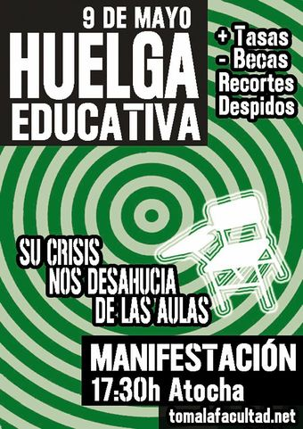 9M Huelga General Educativa